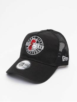 New Era Trucker Caps Minor League Portland Beavers Patch 9Forty AF czarny