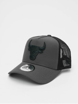 New Era Trucker Caps Diamond Era A Frm grå