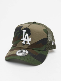 New Era Trucker Caps MLB LA Dodgers Camo Ess 9Forty AF grøn