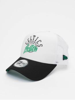 New Era Trucker Caps NBA Boston Celtics Neoprene 9forty A-Frame hvit