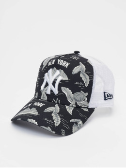 New Era Trucker Caps MLB NY Yankees Desert Island 9forty A-Frame niebieski