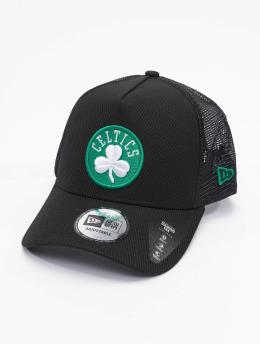 New Era Trucker Caps NBA Boston Celtics Black Base 9Forty svart
