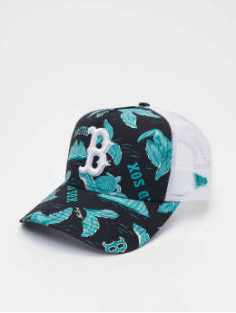 New Era Truckerkeps  MLB Boston Red Sox Desert Island 9forty A-Frame blå