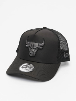 New Era Truckerkeps NBA Chicago Bulls Tonal Black AF svart