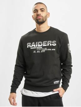 New Era trui NFL Oakland Raiders Wordmark Slogan Crew zwart