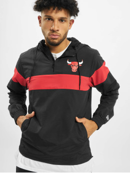 New Era Übergangsjacke NBA Chicago Bulls schwarz