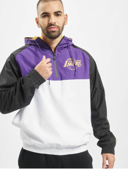New Era Übergangsjacke NBA LA Lakers weiß