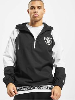 New Era Veste mi-saison légère NFL Oakland Raiders Windbreaker  noir