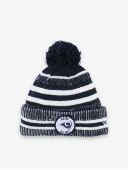 New Era Winter Bonnet NLF LA Rams Onfield Cold Weather Home  blue