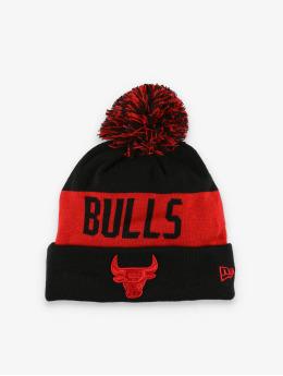 New Era Winter Hat NBA Chicago Bulls Team Tonal Knit  black