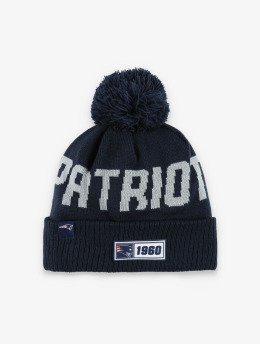 New Era Winter Hat NFL New England Patriots Onfield Cold Weather Road  blue