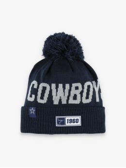 New Era Winter Hat NFL Dallas Cowboys Onfield Cold Weather Road  blue