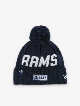 New Era Wintermütze NFL LA Rams Onfield Cold Weather Road blau