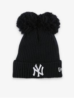 New Era Wintermütze MLB NY Yankees Double Pom Cuff blau