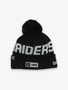 New Era Wintermütze NFL Oakland Raiders Onfield Cold Weather Road schwarz