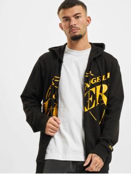New Era Zip Hoodie NBA Los Angeles Lakers Enlarged Logo czarny