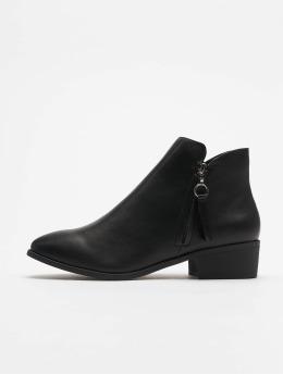 New Look Ботинки Abbi - Zip Pull Low Casual 35 черный