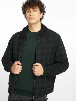 New Look Демисезонная куртка Check Aviator зеленый