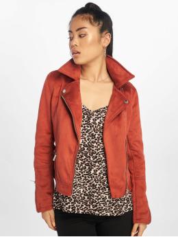 New Look Демисезонная куртка Fletcher Suedette коричневый
