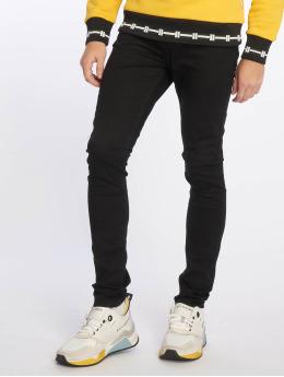 New Look Облегающие джинсы Black черный