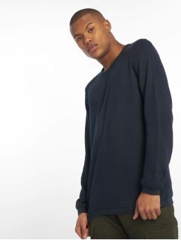 New Look Пуловер Textured синий