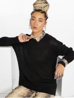 New Look Пуловер OP черный