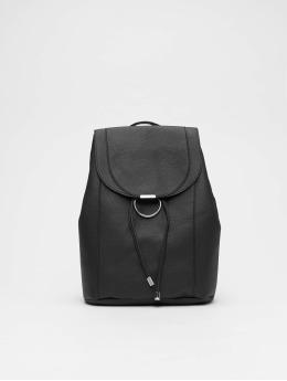 New Look Backpack Ring Detail black