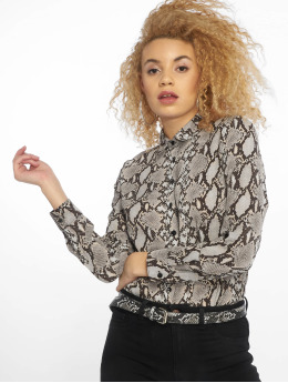 New Look Blouse & Chemise Oslo Animal Print LI gris
