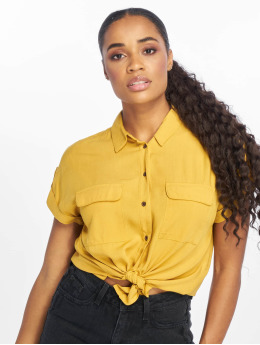 New Look Blouse Jefpatch geel