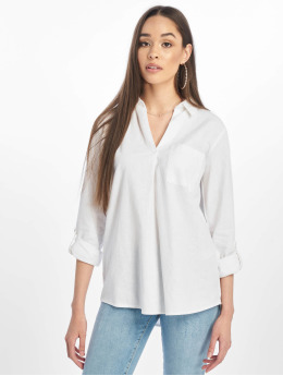 New Look Blusa / Túnica T Lucy Linen Ellie Oh blanco