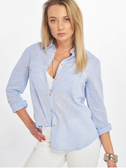 New Look Bluser/Tunikaer F T Lucy Linen 2 Pocket blå