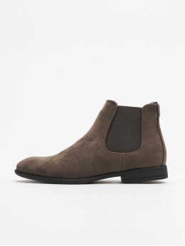 New Look Männer Boots Rossi Sdt Chelsea Boot in grau