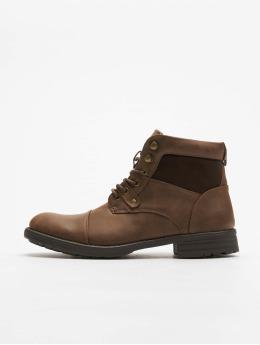 New Look Boots Ryan Military marrón