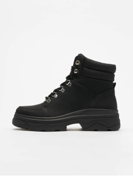 New Look Boots Chunk - Extreme Chunky Lace Up negro