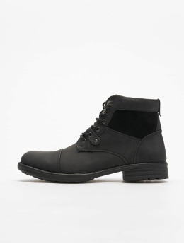 New Look Boots Ryan Military Zip schwarz