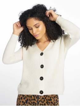 New Look Cardigan Fisherman Button blanc
