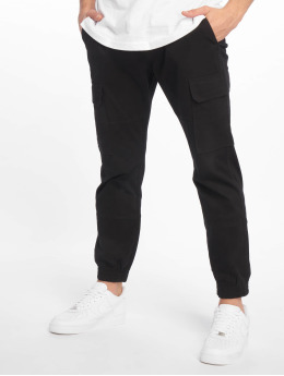 New Look Cargo pants Half Elasticated  black
