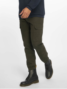 New Look Cargo pants Half Elasticated hnědožlutý