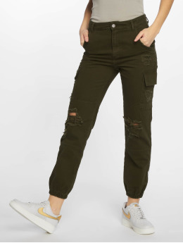 New Look Cargobroek Malibu Ex Rip khaki