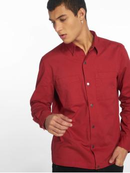 New Look Chaqueta de entretiempo Snap Through Shacket rojo