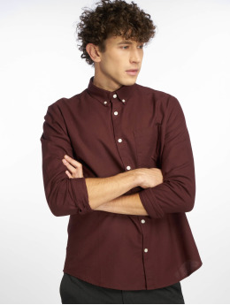 New Look | Longsleeve New Oxford rouge Homme Chemise