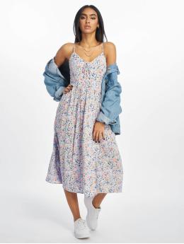 New Look Dress F Print 1 Lattice Front purple