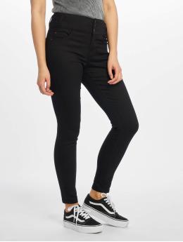 New Look High waist jeans Highwaist svart