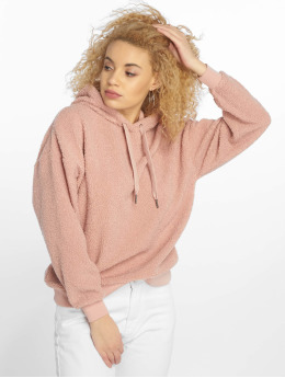 New Look Hoody Borg rosa
