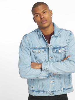 New Look Jeansjackor Basic Denim blå