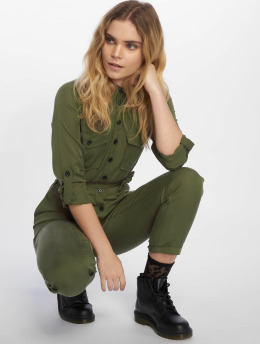 New Look Frauen Jumpsuit F Tencel Boiler in khaki