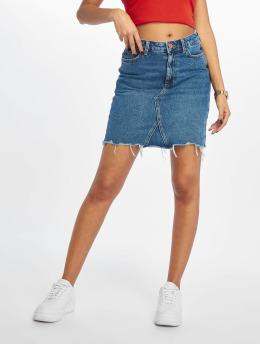 New Look Jupe Mom Skittles bleu