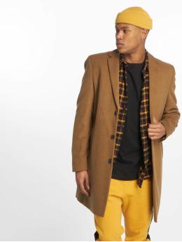 New Look Kabáty Smart hnědý