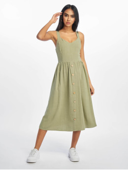 New Look Kleid F Bermuda Button Front khaki