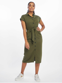 New Look Kleid Tim Shortsleeve Midi olive